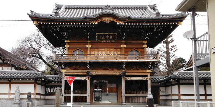 大林寺-南門